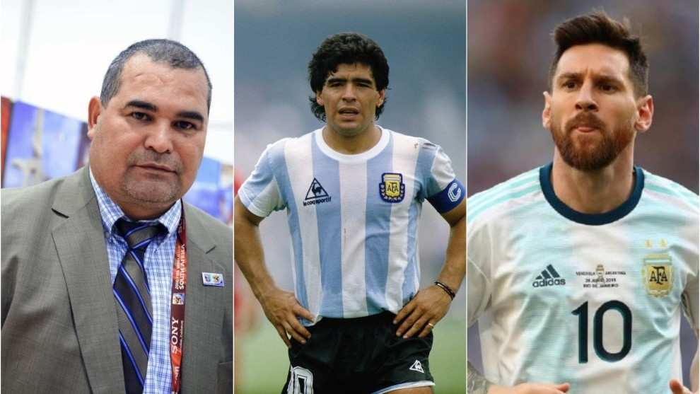 El ex arquero y una clara definición de por qué es Messi el mejor de...