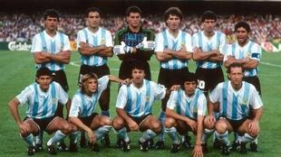 Argentina en Italia 90
