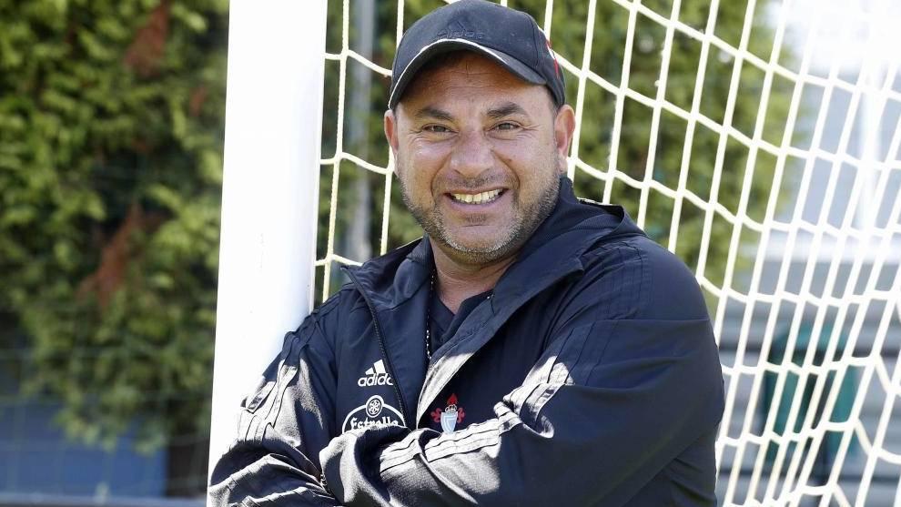 Antonio Turco Mohamed, en su etapa en el Celta.