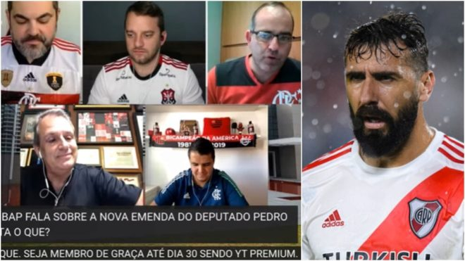 Un dirigente de Flamengo contra Lucas Pratto