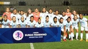 La Selección Argentina que jugó el Sudamericano Sub 20