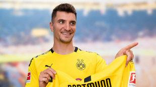 Thomas Meunier, nuevo jugador del Borussia Dortmund.