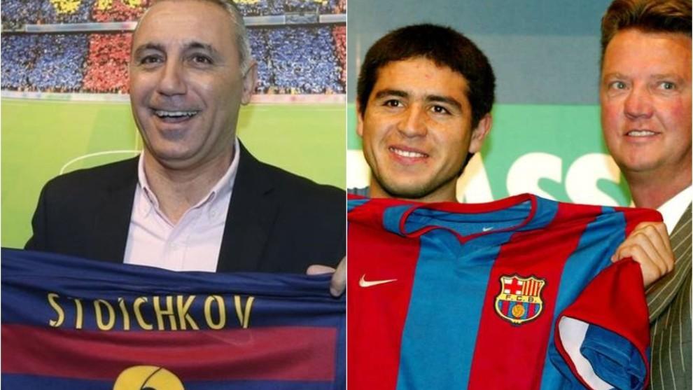 Stoichkov jugó 7 años y ganó 15 títulos en el Barcelona.
