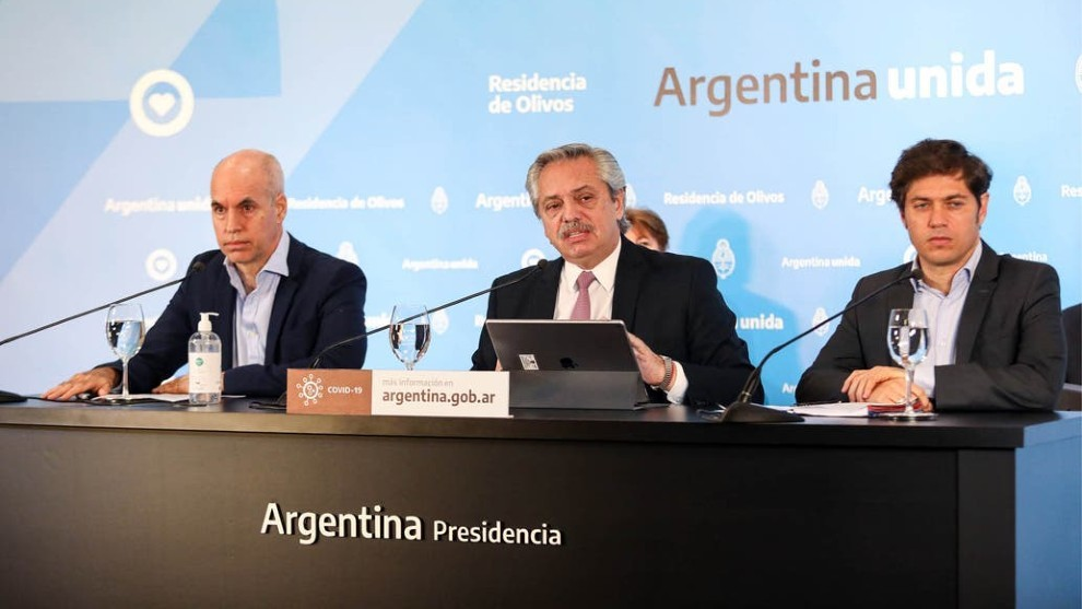 Alberto Fernández extiende la cuarentena — En vivo