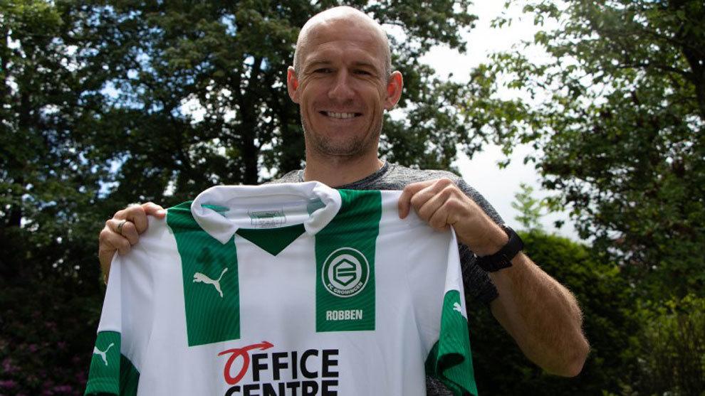 Arjen Robben vuelve del retiro y jugará en Groningen de Holanda