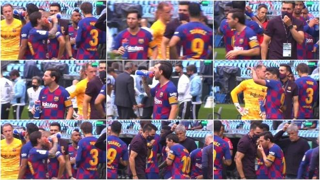 Secuencia de las imágenes de 'El Partidazo de Movistar' entre Messi y...