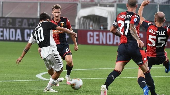 Dybala abrió el marcador para Juventus