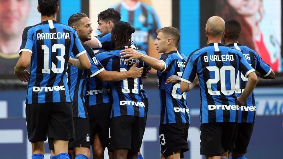 El Inter aplasta a Brescia, pero Lautaro no pudo convertir