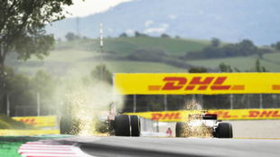 La F1 arranca echando chispas en el Red Bull desde mañana.