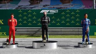 Valtteri Bottas, el ganador en Austria