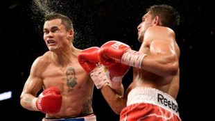 Marcos Maidana vs Amir Khan en 2010
