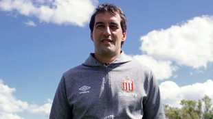 Agustín Alayes, director deportivo de Estudiantes.