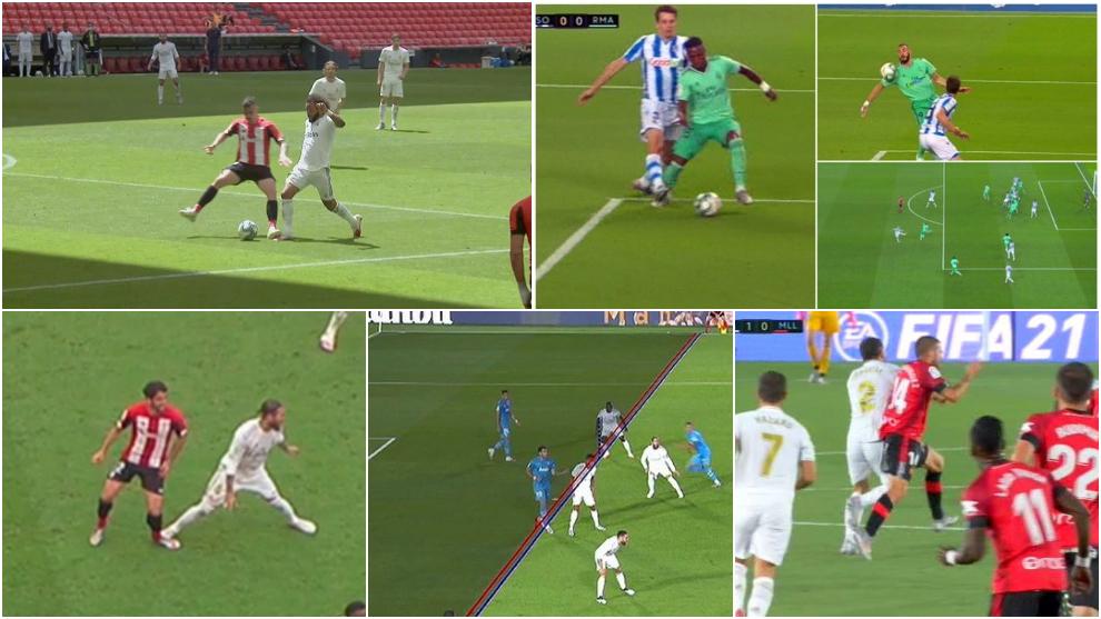 Las jugadas polémicas del Madrid y del Barça de las que se quejan...