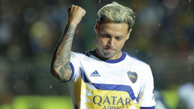 Mauro Zárate en Boca.