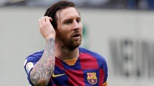 Leo Messi jugó todos los partidos desde el regreso tras la pandemia...