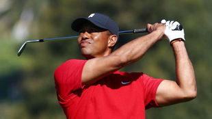 Tiger Woods, en el Genesis Invitational, último torneo que disputó.
