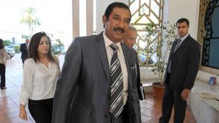 Mohamed Ayachi Ajroudi, durante un acto.
