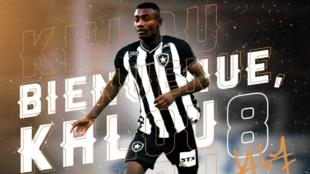 La imagen de bienvenida a Kalou por parte del Botafogo