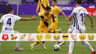 La contracrónica del Valladolid vs Barcelona