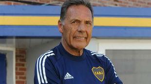 Miguel Russo, director técnico de Boca.