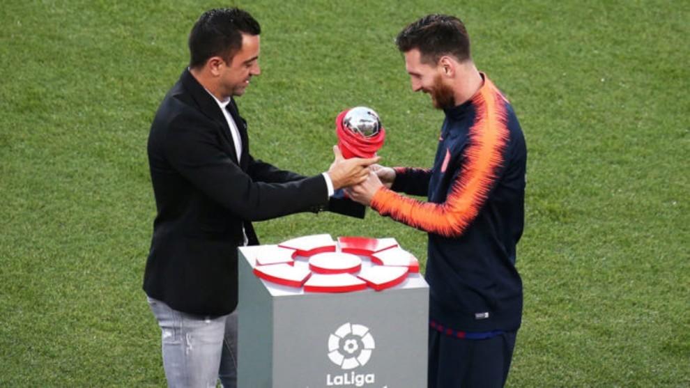 Messi ha superado a Xavi en asistencias.