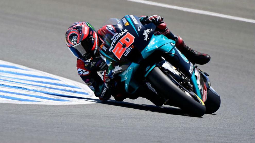 Fabio Quartararo, en Jerez