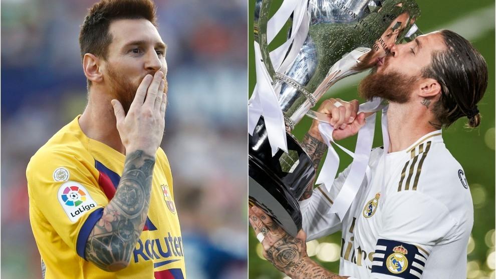 Messi fue el goleador, Sergio Ramos, la figura del campeón.