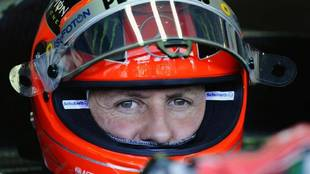 Michael Schumacher, en una imagen en 2012.