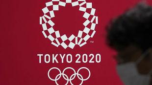Cartel de los juegos de Tokyo 2020