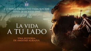 El cartel promocional de 'La vida a tu lado'