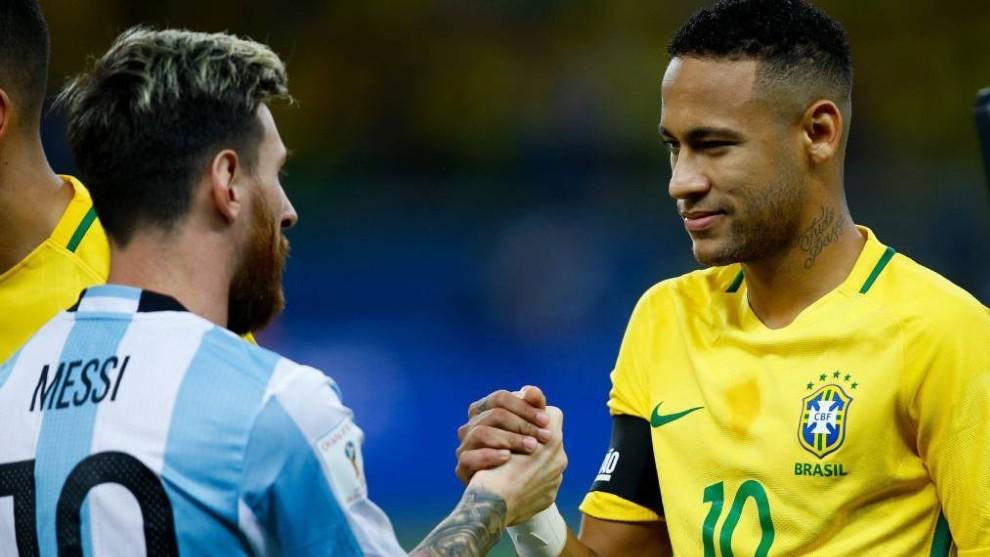 Selección Argentina: ¿Se viene un nuevo cruce entre Messi y Neymar? | MARCA Claro Argentina