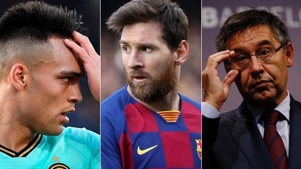 Bartoméu hizo referencia a la continuidad de Messi y al caso del...
