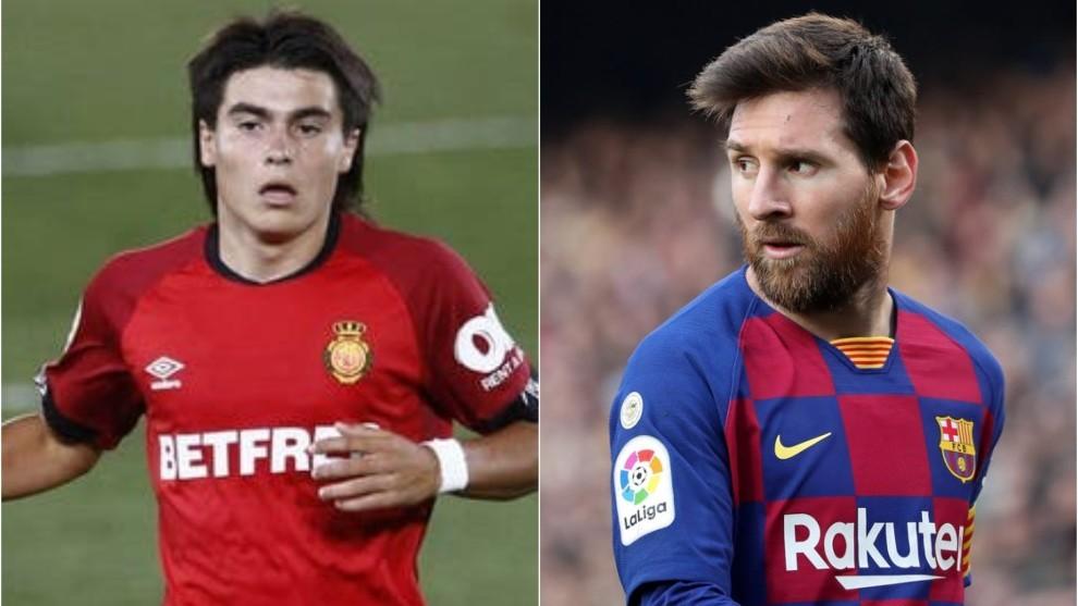 Luka Romero pide no ser comparado con Leo.