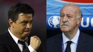 Vicente del Bosque ve a Gallardo dirigiendo al Real Madrid.