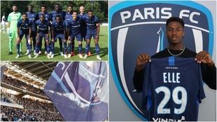 El Paris FC, equipo de la Segunda división francesa.