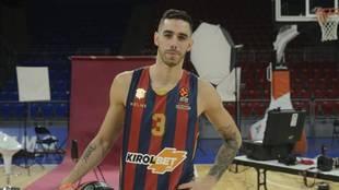 Luca Vildoza, jugador del Baskonia.