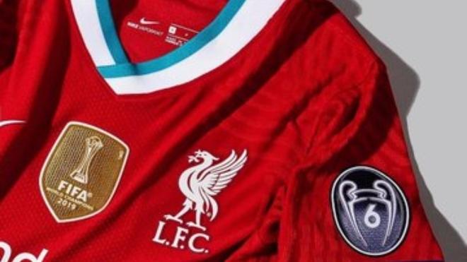 La nueva camiseta del Liverpool.