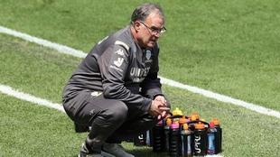 Marcelo Bielsa, director técnico del Leeds United.