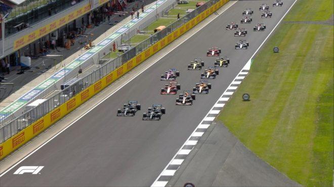 La carrera del Gran Premio de Gran Bretaña de Fórmula 1, en vivo