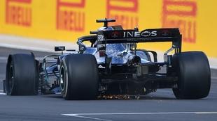 Lewis Hamilton se llevó el triunfo en Silverstone