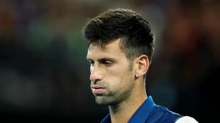 Novak Djokovic, durante un torneo.