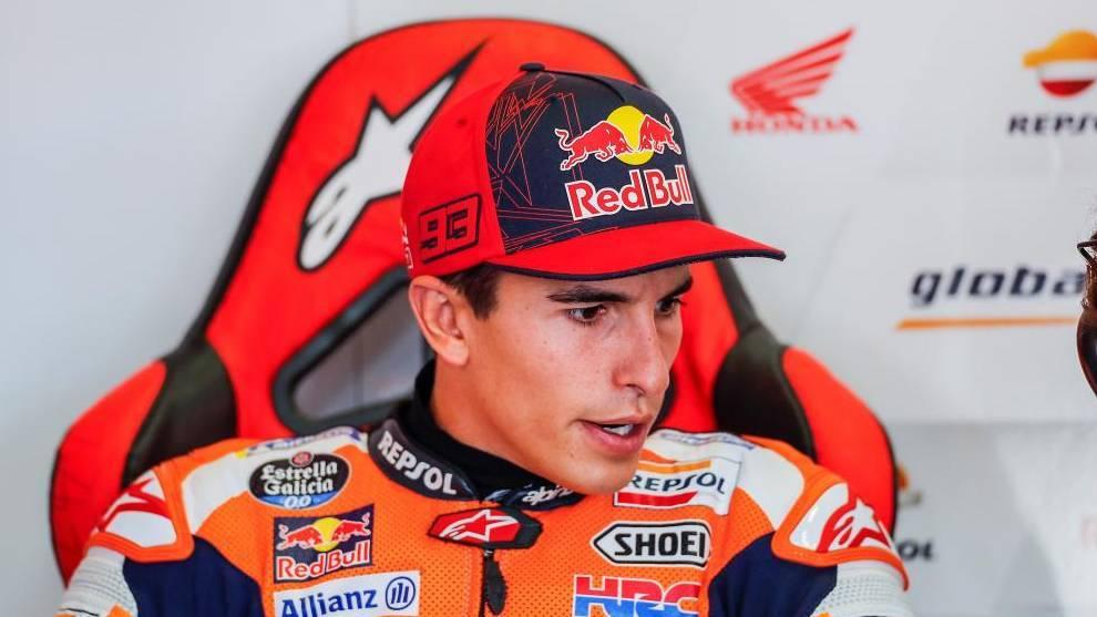 Marc Márquez, piloto de MotoGP  de Honda.