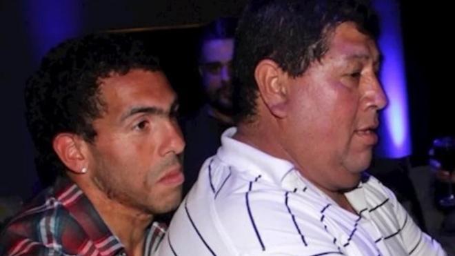 Carlos y Segundo Tevez