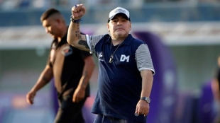 Diego Maradona se unirá a los entrenamientos de Gimnasia La Plata
