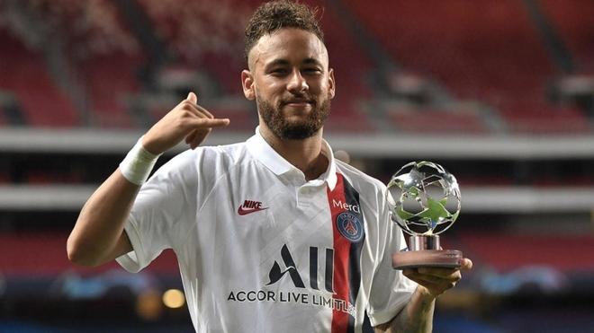 Neymar fue el MVP del encuentro entre Atalanta y PSG