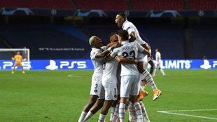PSG venció a Atalanta y avanzó a semifinales de la Champions League