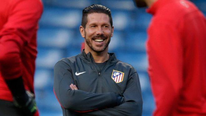 Diego Simeone busca la Champions League para su Atlético de Madrid