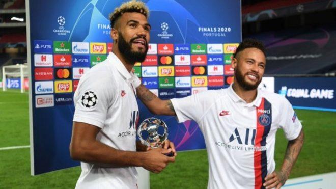 Choupo-Moting y Neymar