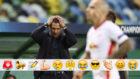 El Cholo Simeone, en el partido del Atlético ante el RB Leipzig en la...