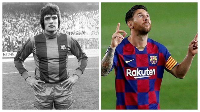 'Milonguita' Heredia y Messi, dos etapas muy diferentes en el...